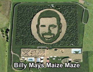 billy mays maize maze - meme
