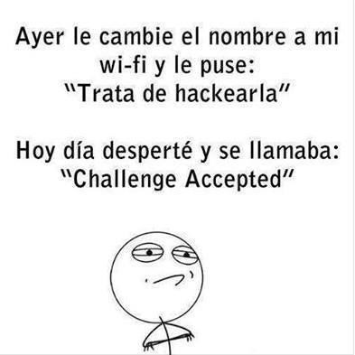 Challenge Acepted  - meme