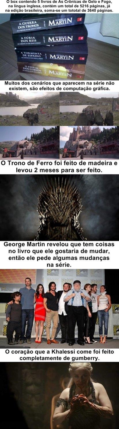 Curiosidades Game of Thrones pt. 2 - meme