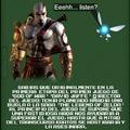 imagina a Kratos matando a Navi