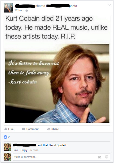 He has since deleted the post - meme