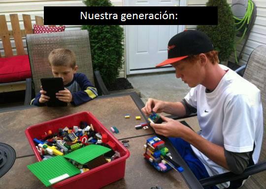 Nuestra generación... - meme