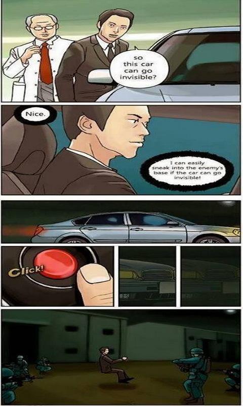 invisible car - meme