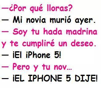 jajajaja un iphone 5! - meme