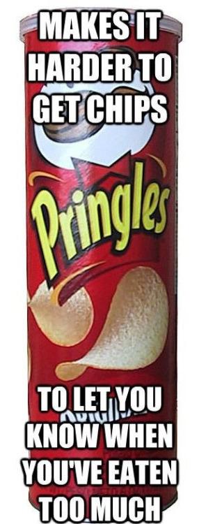 Good Guy Pringles! - meme
