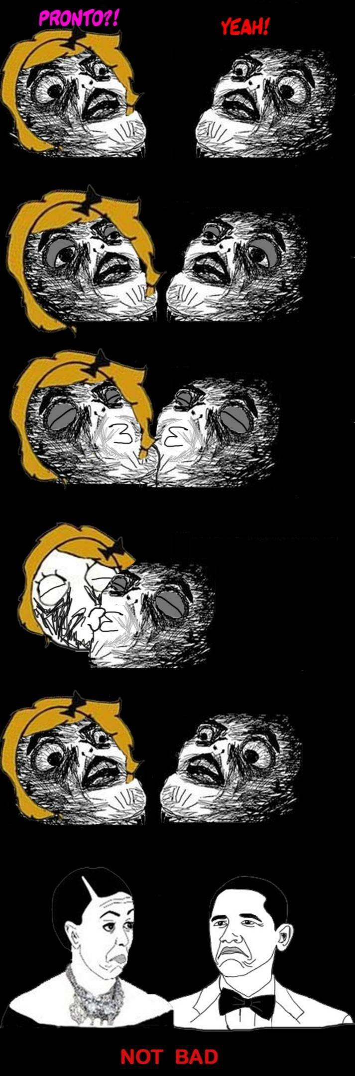 first kiss - meme