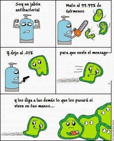 Bacterias - meme