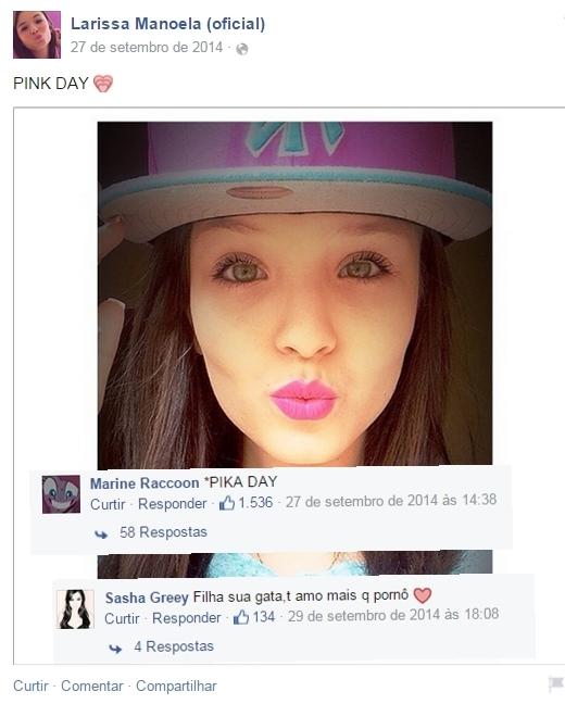 Comentários na página da Maria J. Pt. 6 - meme
