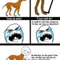 o cão e sua pata