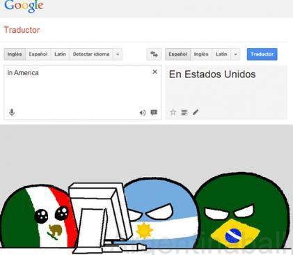 Malditos Gringos ;-; - meme