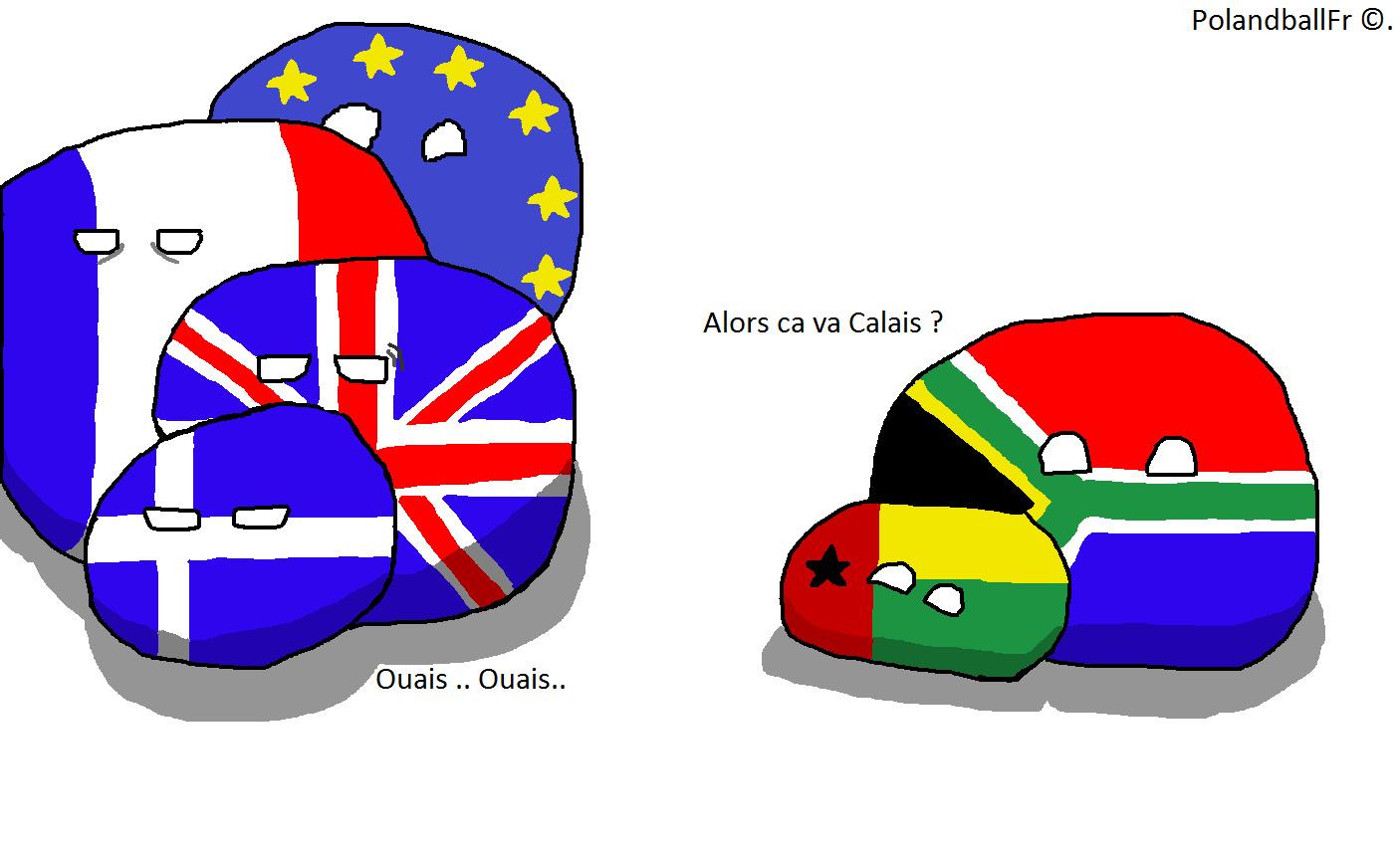 Ca va Calais ? ( Indice : Migration d'Afrique à Calais ) ( Fais maison ) - meme