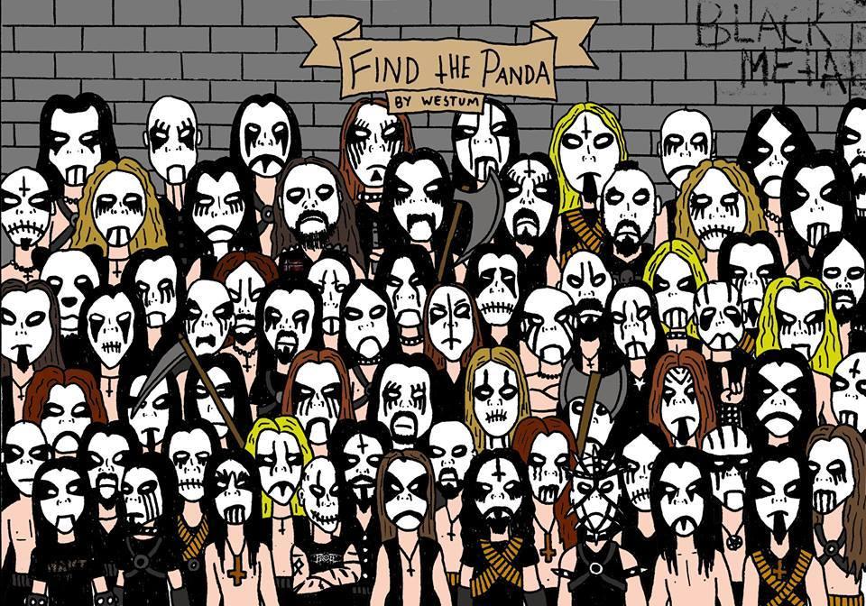 find the panda - meme