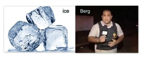 Run, berg for the ice, então ta né - meme