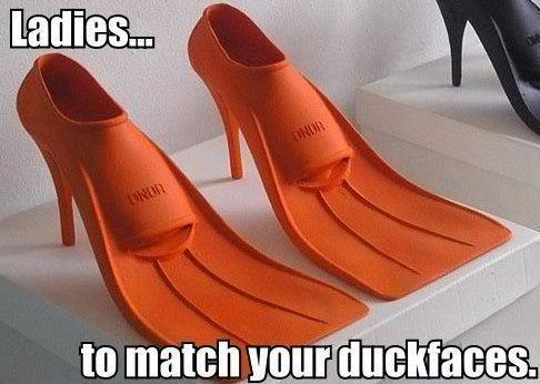 duck face - meme