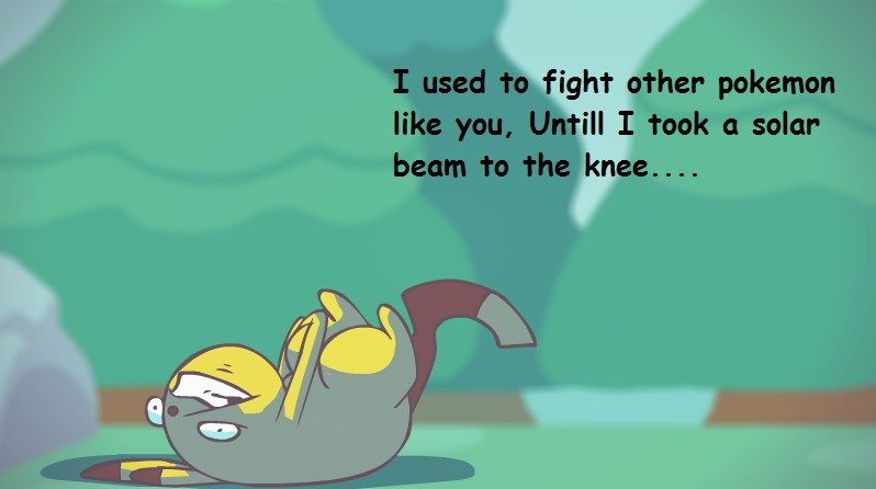 ahhh my knee! thats my knee! - meme