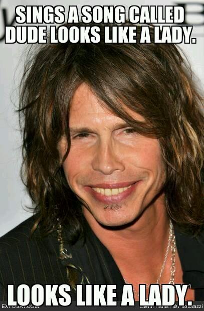 steven Tyler Aerosmith - meme