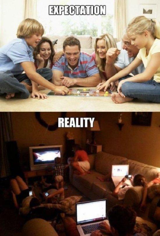 familias modernas - meme