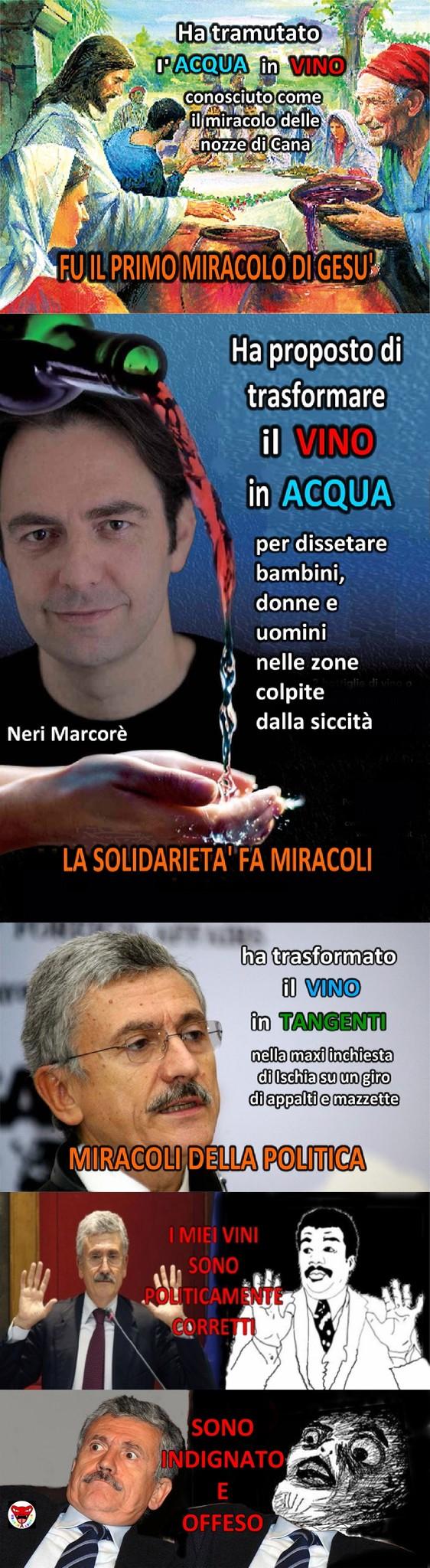 Miracoli della politica... - meme