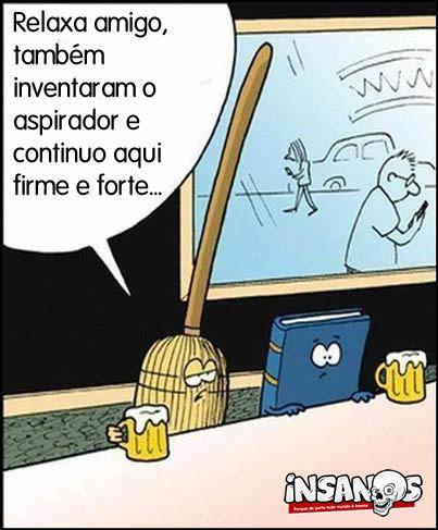 Relaxa livro... - meme