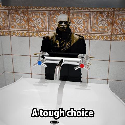 choose wisely!!! - meme