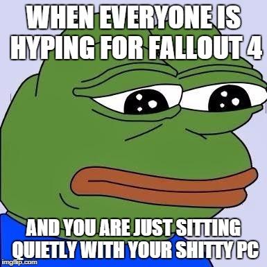 My situation :/ - meme