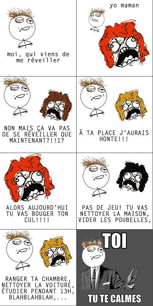 Les mères... - meme
