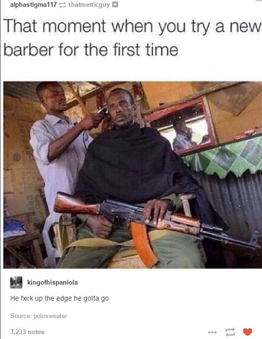 he gotta go - meme