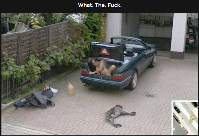Wtf... only on google maps - meme