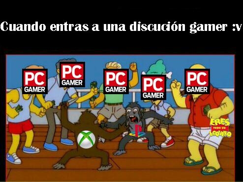 Discución Gamer :v - meme