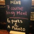 True Irish meal!
