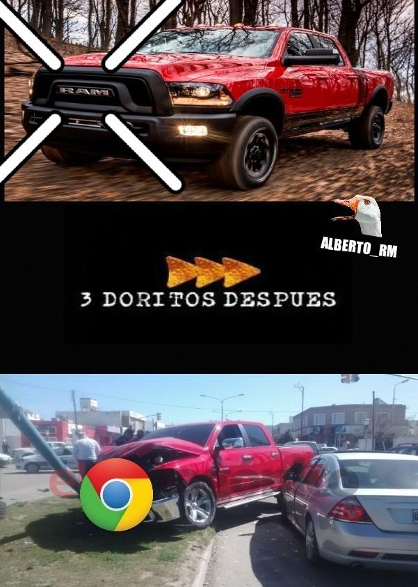 Ram <3 Chrome - meme