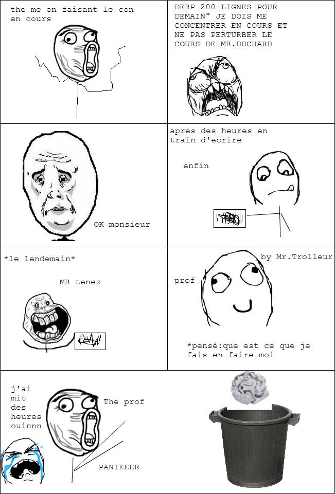 enfoire de prof - meme