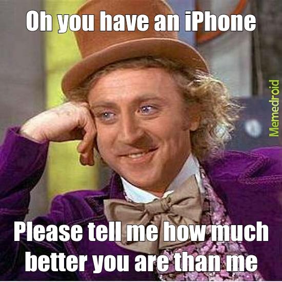 iPhone hipster - meme