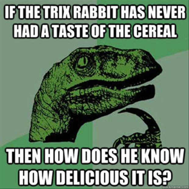 philosophical raptor - meme