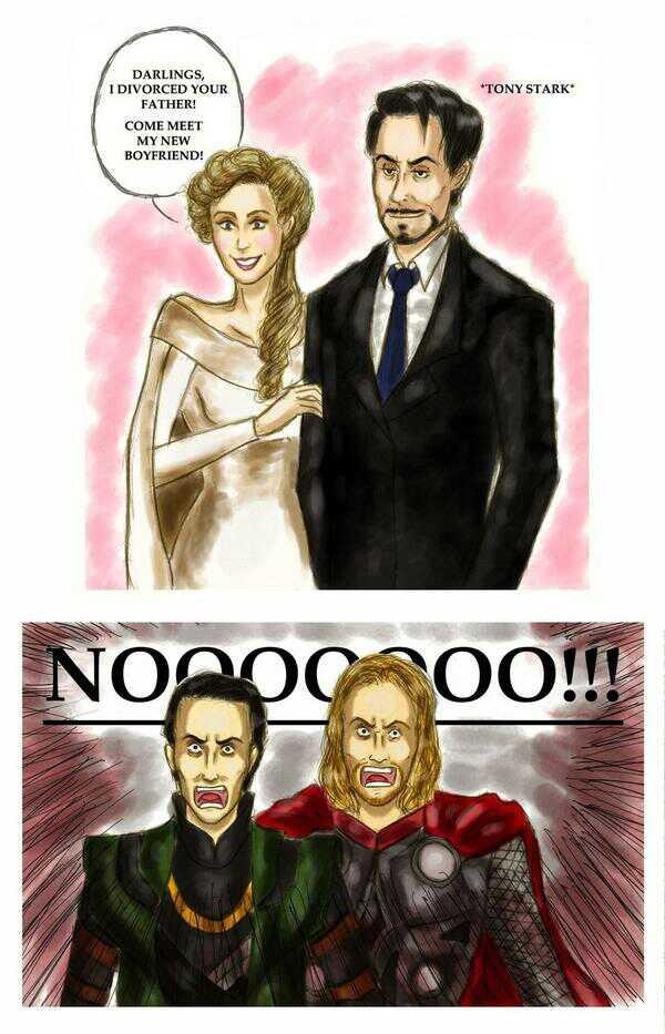 I wish Tony Stark was my stepdad... - meme