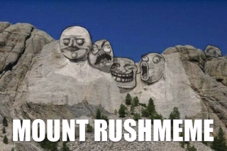 mount rushmeme