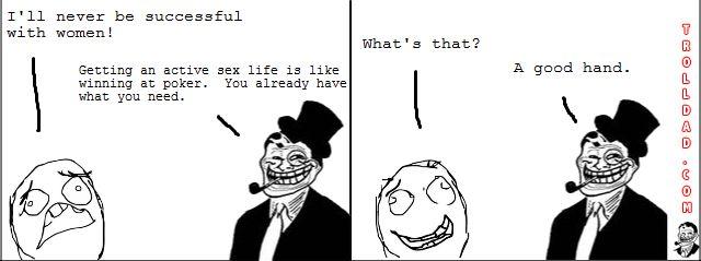 poker game - meme