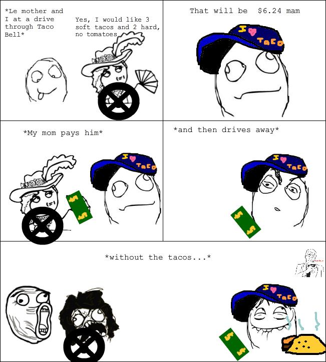 Taco Rage - meme