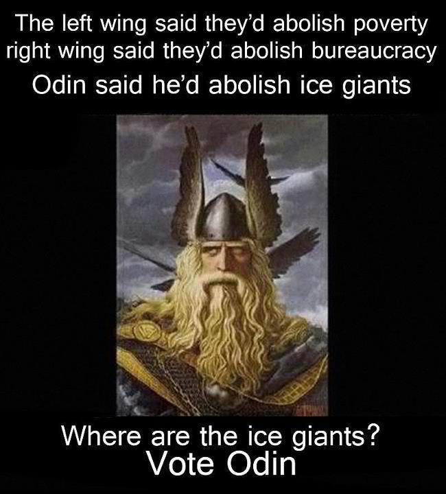 501f261345985 vote odin meme by riot_urp ) memedroid,Odin Meme