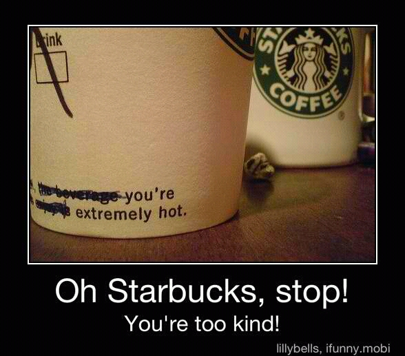 Starbucks its gonna get serious - meme