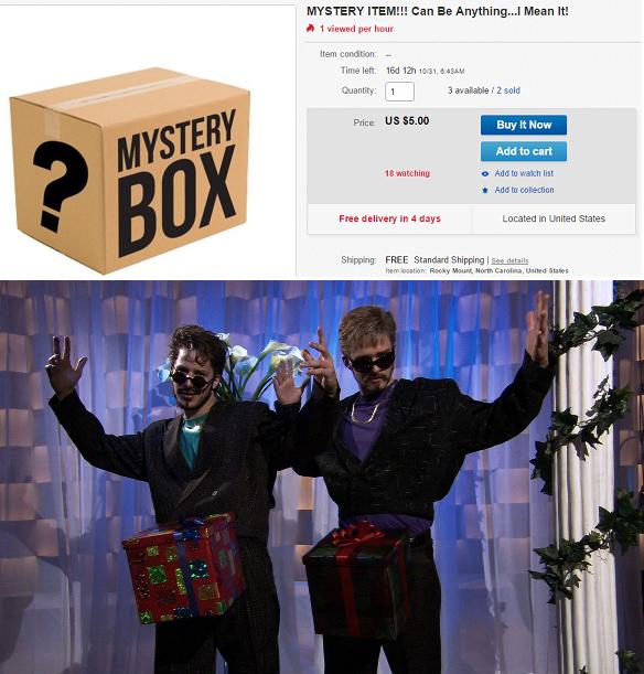 Mystery box! - meme