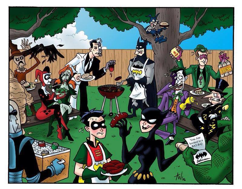 Robin's weiner is punctured. - meme