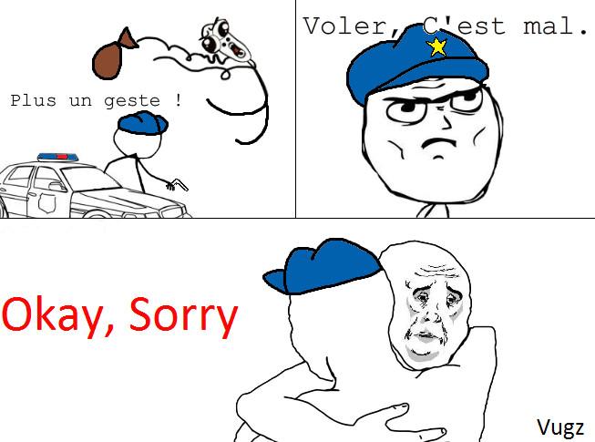 Okay, Sorry. - meme