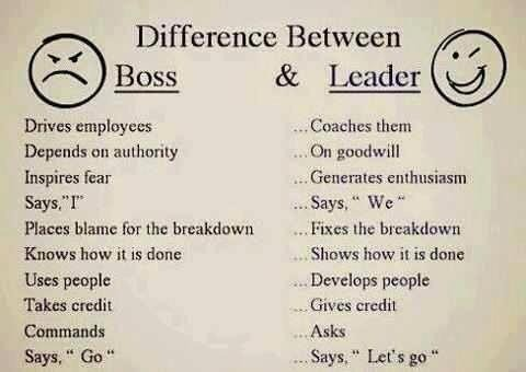 Boss & Leader - meme