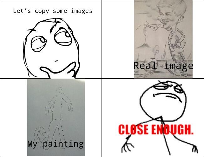 Copying - meme
