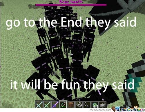 It will be fun they said!!!!! - meme