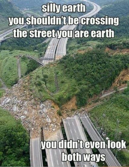 Silly earth - meme