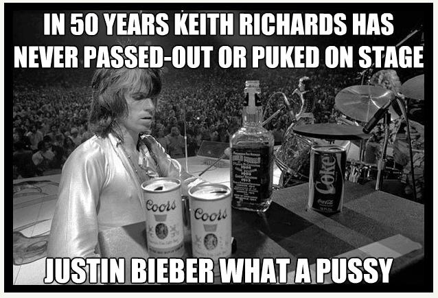Those of you who don't know who this is its Keith mutha fucking Richards that's right one of the most bad ass mutha fuckas alive - meme