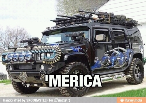 Zombie defense unit from America - meme