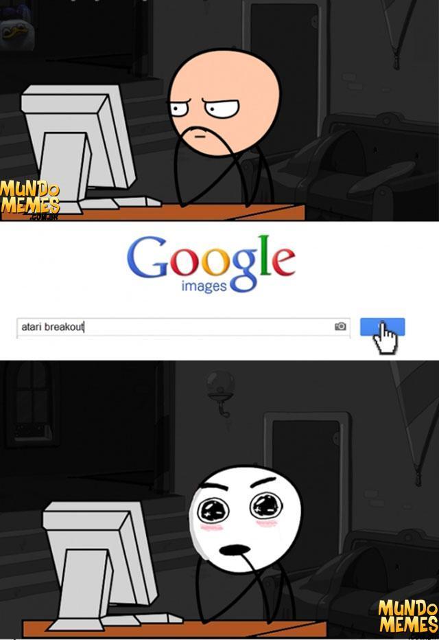 Atari Breakout no google *.* - meme